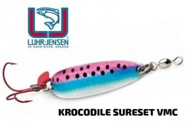 Luhr Jensen Krocodile SureSet VMC 3/16 oz Клатушка