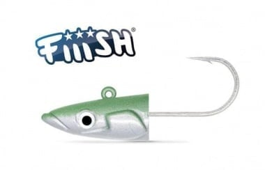 Fiiish Crazy Sand Eel №3 Jig Head 60g Off Shore Pearl Green Джиг глава