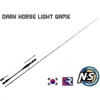 Dark Horse Light Game S-68RM Black Hole Въдица