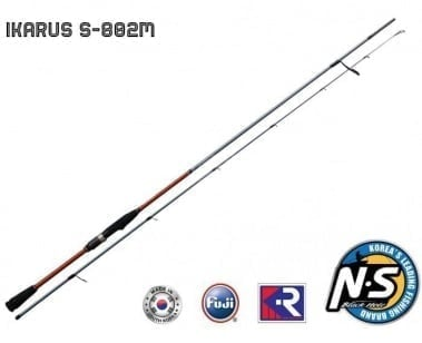 Black Hole Ikarus KR S-802M  2.44M Спининг въдица