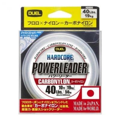 DUEL Hardcore Powerleader 50m Флуорокарбон