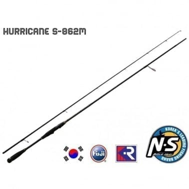Black Hole Hurricane SWII KR S-862M 2.60m Спининг въдица