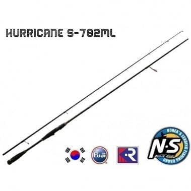 Black Hole Hurricane SWII KR S-702ML 2.13m Въдица