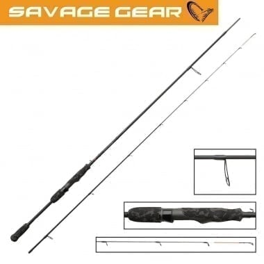 Savage Gear BLACK SAVAGE DROPSHOT Спининг въдица