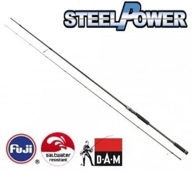 DAM STEELPOWER Black Spin Спининг въдица