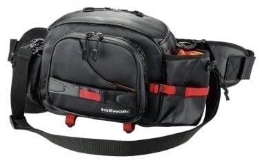 Tailwalk STANDARD WAIST BAG BK Спининг чанта