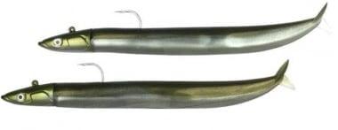 Fiiish Crazy Sand Eel №1 Double Combo 10cm Комплект силикони