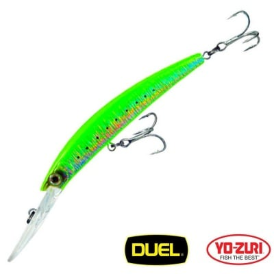 Yo-Zuri Crystal Minnow Deep Diver 90mm 9.5g F1011 Воблер