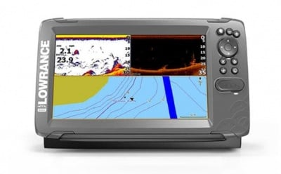 Lowrance Hook2 9 SplitShot Transducer Сонар