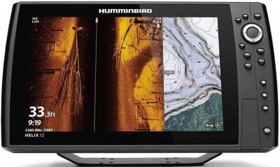 Humminbird HELIX 12 CHIRP MEGA SI+ GPS G3N Сонар