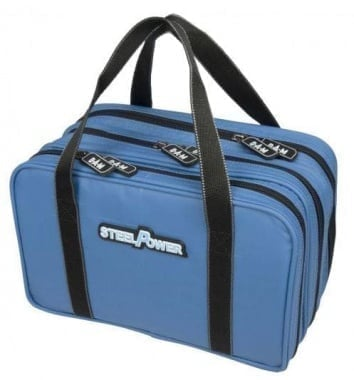 DAM SteelPower Blue water repellent lure bag Чанта за примамки