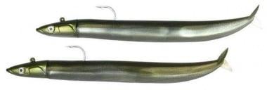 Fiiish Crazy Sand Eel Double Combo Off Shore, 12cm, 15g Комплект Kaki