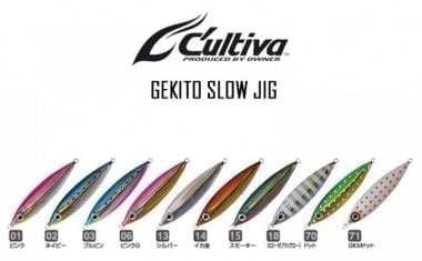 Owner Cultiva Gekito Jig Ultra Slow GJUS 120гр Джиг