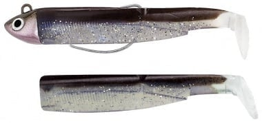 Fiiish Black Minnow №3 Combo Комплект тяло 12 cm и Джиг глава 18g