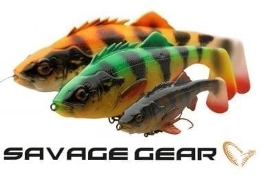 Savage Gear 4D Perch Shad 17.5cm SS Силиконова примамка