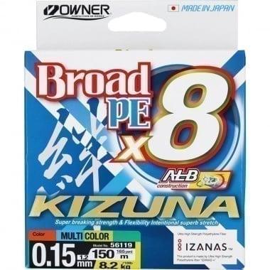 Owner KIZUNA x8 150m Multicolor 8 нишково плетено влакно