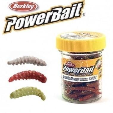 BERKLEY Powerbait Honey Worms Силиконова примамка
