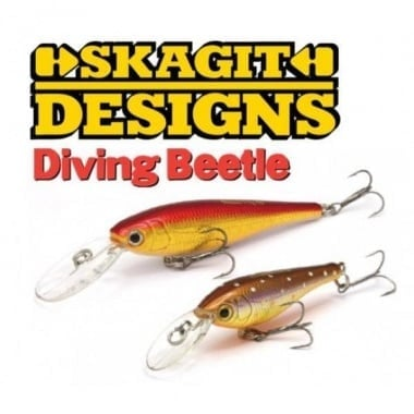 Skagit Designs Diving Beetle Воблер
