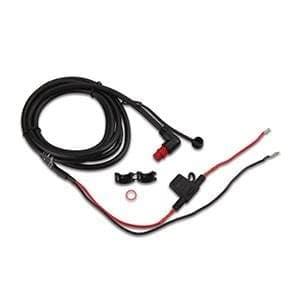 Garmin Захранващ кабел с конектор под прав ъгъл с резба (0.61 м)