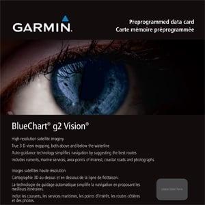 Garmin BlueChart g2 Vision за други морета и региони