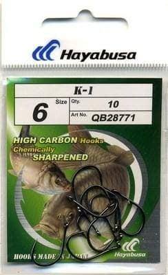 HAYABUSA K-1 Carp Teflon Куки