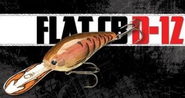 Lucky Craft FLAT CB D-12 Воблер