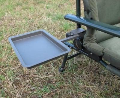 CarpFocus Помощна маса за шаранджийски стол