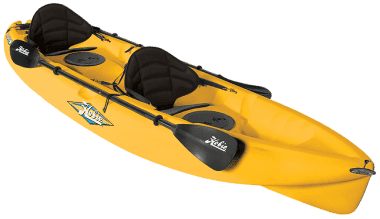 Hobie Kona Deluxe Package Каяк с гребла