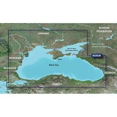 Garmin BlueChart® g2 Карти за Черно море