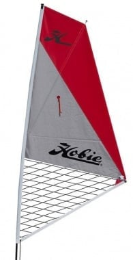 Hobie Sail Kit Kauak red/silver Платно за каяк