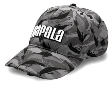 Rapala Pro Wear lighted (LED) Cap Black Шапка