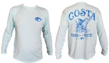 Costa - Technical Baja Mint Long Sleeve TECHBAJA 12MT Блуза
