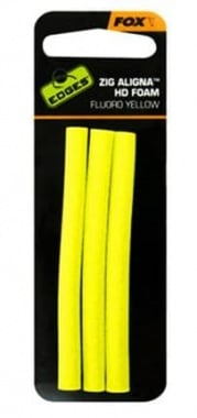 Fox Zig Aligna Foam x 3 Fluoro Пяна пръчки жълти