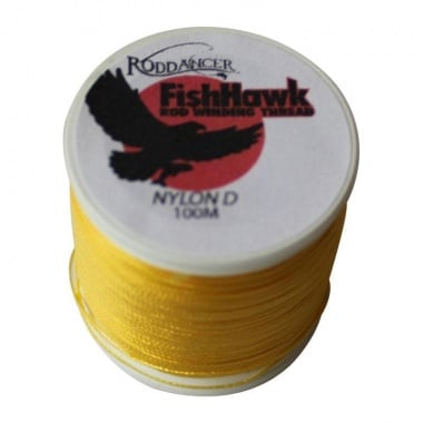 FishHawk Nylon Whipping Thread Goldenrod Конец