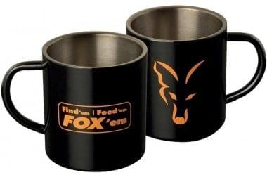 Fox Stainless Black XL 400ml Mug Чаша