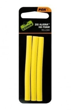 Fox Zig Aligna Foam Yellow Пяна пръчки