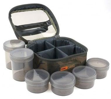 Fox Camolite Glug 6 pot case Чанта и шест бурканчета