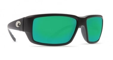 Costa Fantail Matte Black / Green Mirror 580P Очила