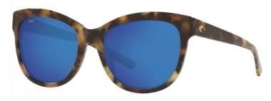 Costa Bimini Shiny Vintage Tortoise/Blue Mirror 580G Очила