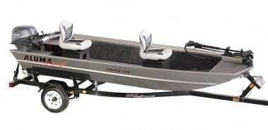 Alumacraft Crappie Jon Лодка