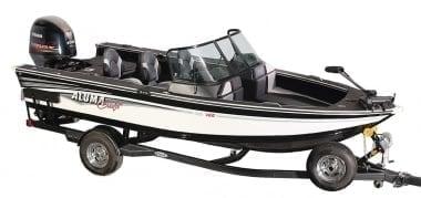 Alumacraft Edge 185 Sport Лодка