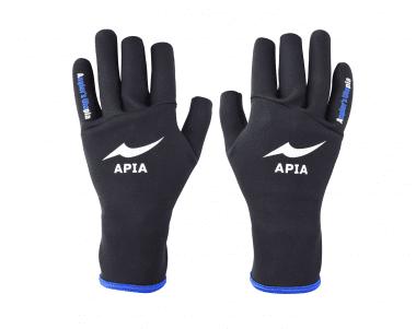 Apia Titanium Gloves Ръкавици L Black × Blue