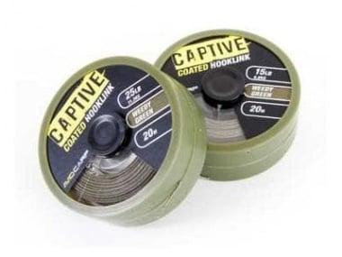 Avid Carp Coated Hooklink Плетен повод