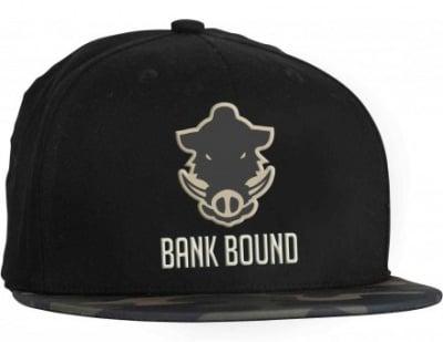 ProLogic Bank Bound Flat Bill Cap Black/Camo Шапка