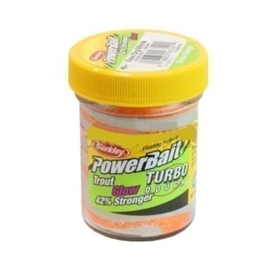 Berkley PB - 42% Stronger Glow Turbo Dough - Glow/Org/White - /STBTDG-GOW/ 1102744