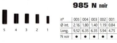 Cannelle 985 noir Цилиндърче