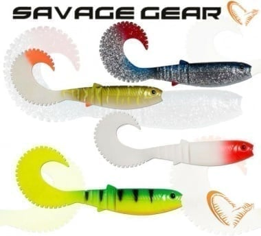 Savage Gear LB Cannibal Curltail Силиконова примамка