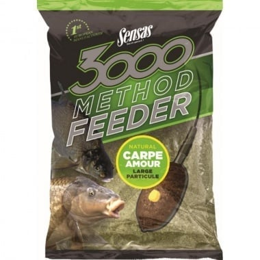 Sensas Method Feeder Carp Amour Захранка