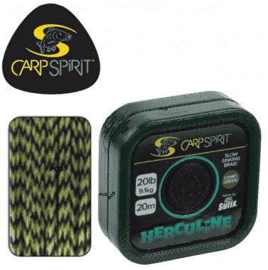 Carp Spirit Herculine 20m Camo Brown Монофилен повод