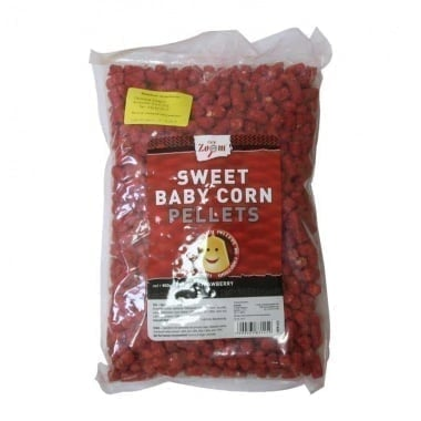 Carp Zoom Sweet Baby Corn Pellets Strawberry Течен аромат